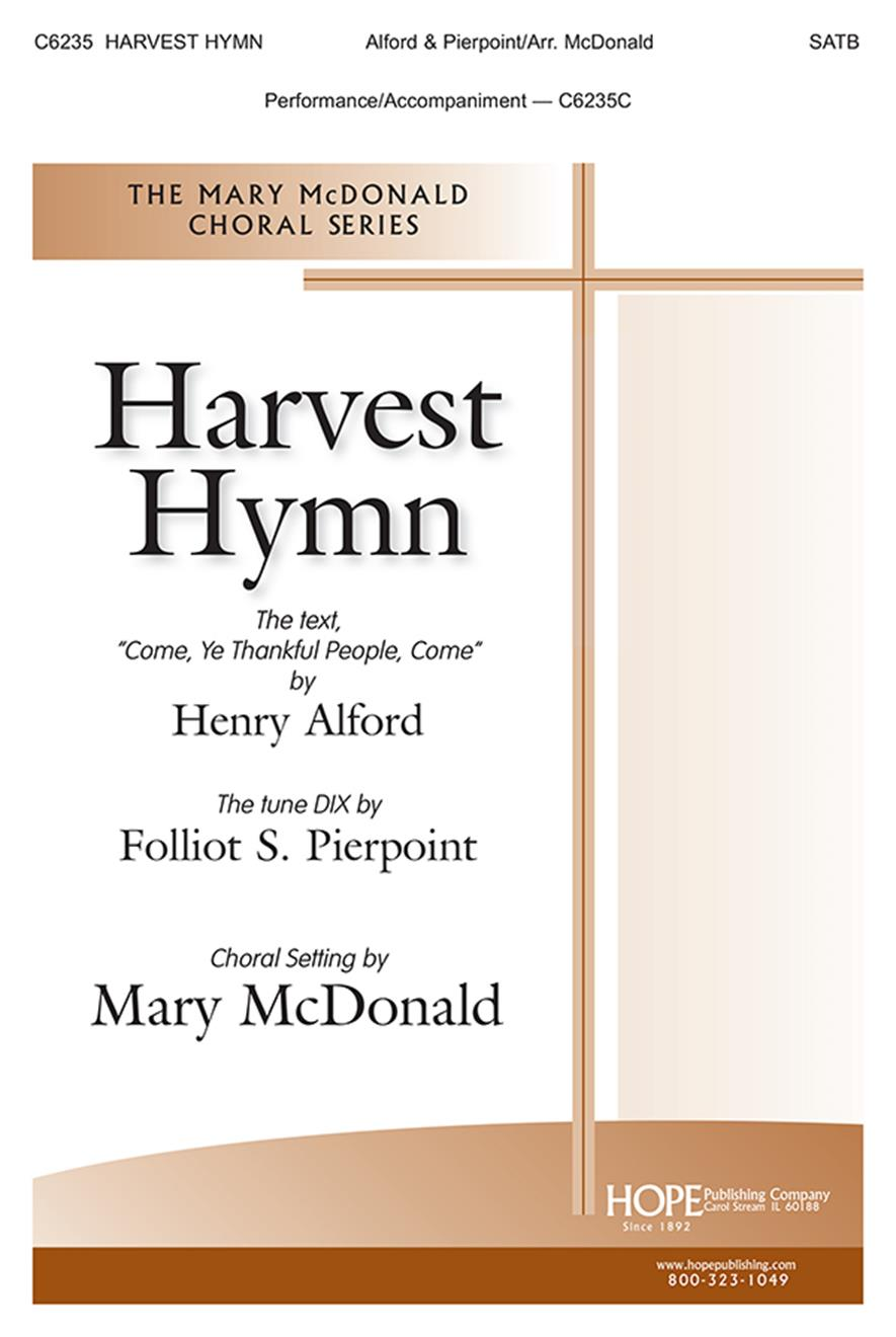 Harvest Hymn - SATB Cover Image