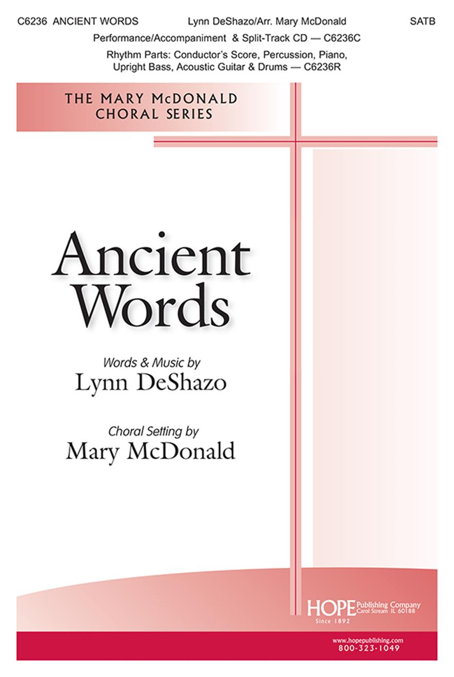 Ancient Words - SATB Cover Image