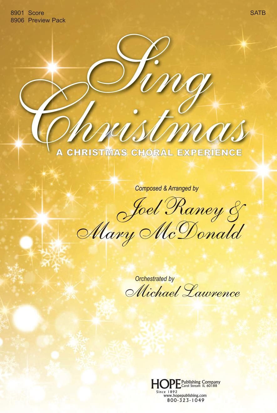 Sing Christmas - SATB Score Cover Image