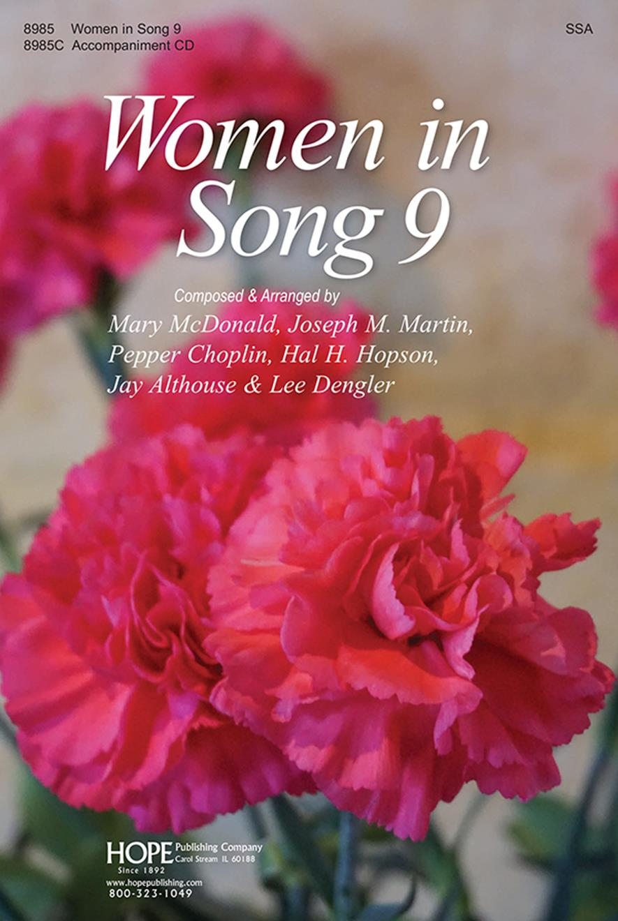 Women In Song 9 - Score Cover Image