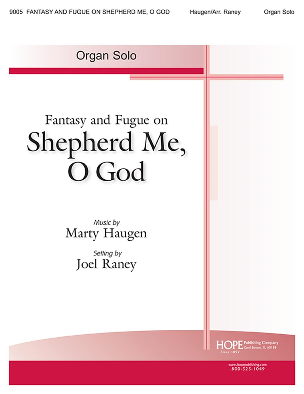 Fantasy and Fugue on Shepherd Me O God - Score Cover Image
