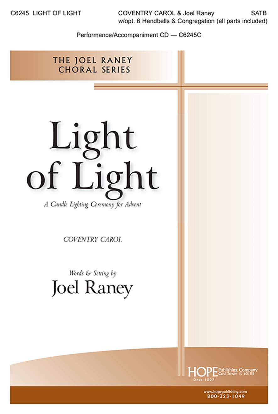 Light of Light: A Candle Lighting Ceremony for Advent - SATB Cover Image