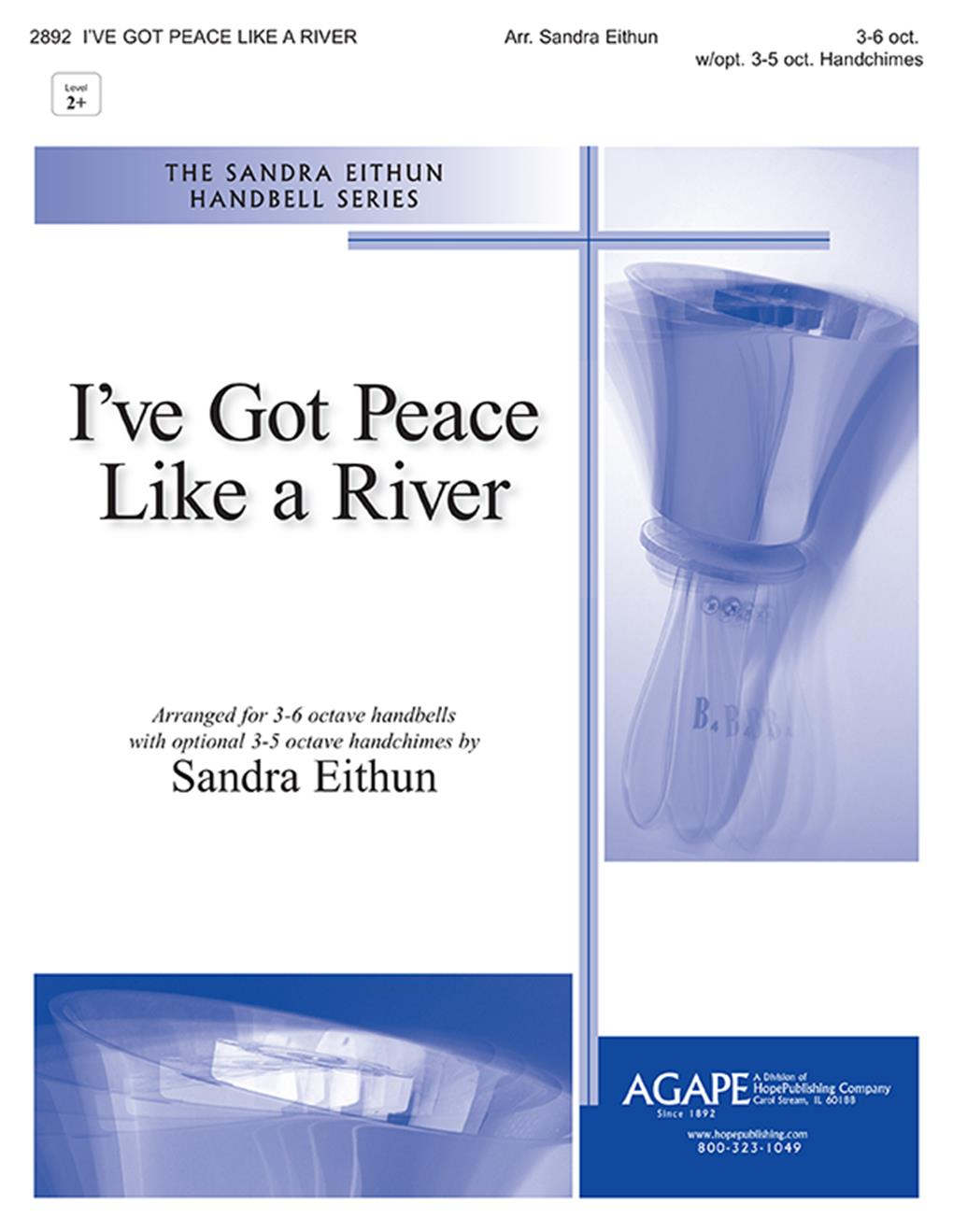 I've Got Peace Like A River - 3-6 Oct. Cover Image