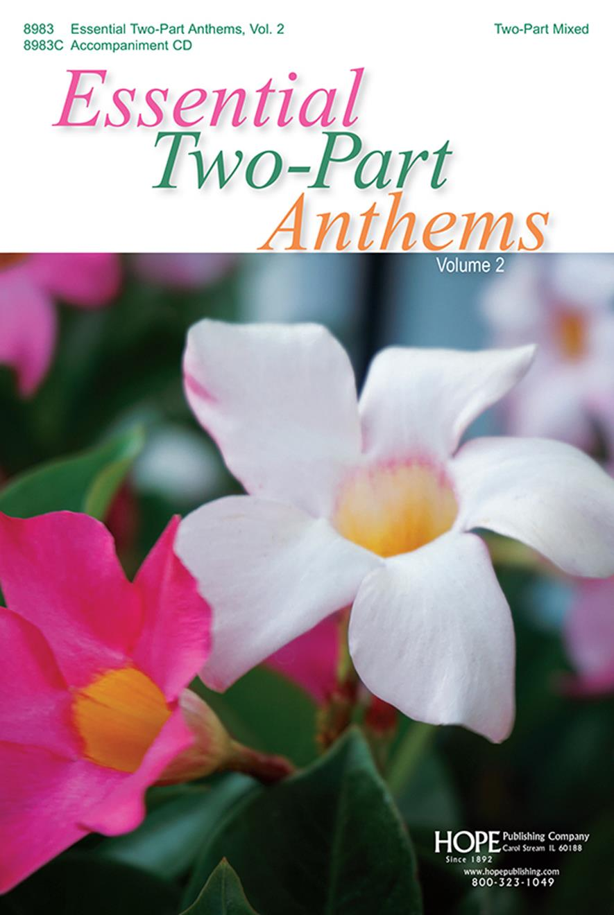 Essential Two-Part Anthems Vol. 2 - Score Cover Image