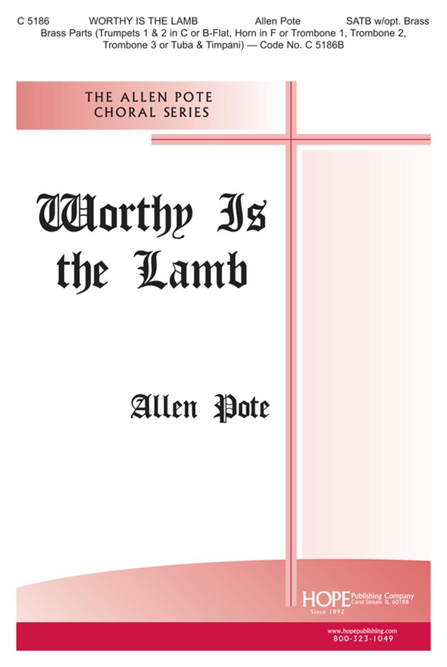 Worthy Is the Lamb - SATB Cover Image