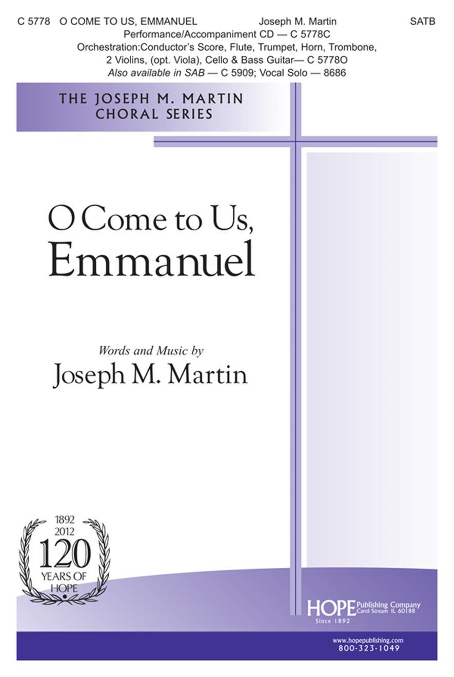 O Come to Us Emmanuel - SATB Cover Image