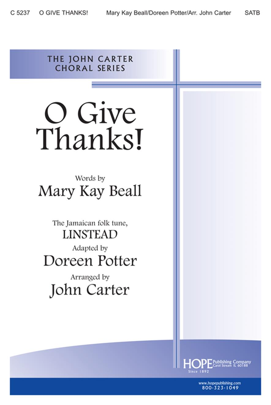O Give Thanks - SATB Cover Image