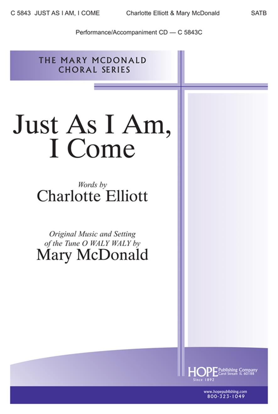 Just as I Am I Come - SATB Cover Image