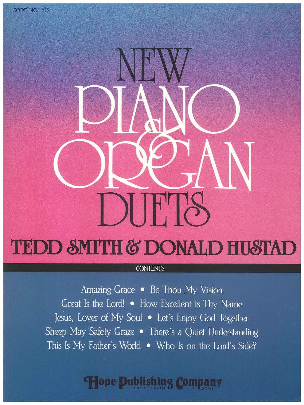 NEW PIANO AND ORGAN DUETS - Cover Image