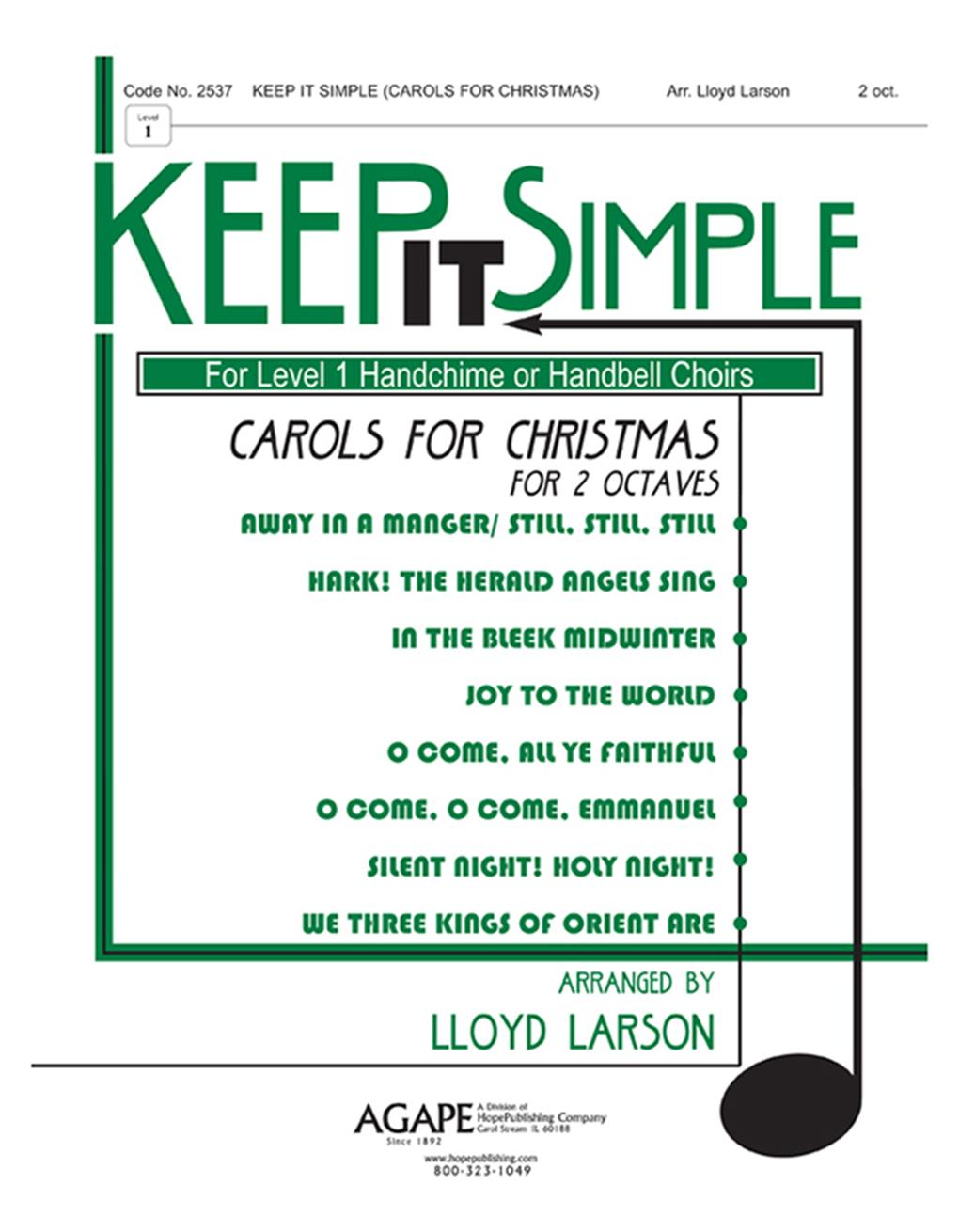 Keep It Simple (Carols for Christmas) - 2 Oct. Collection Cover Image