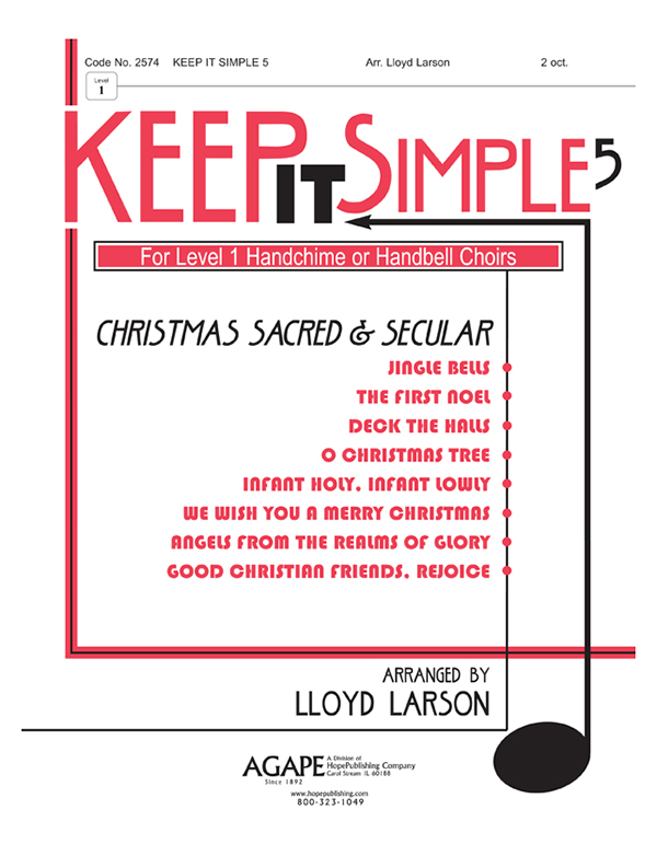 Keep It Simple 5 (Christmas Sacred and Secular) - 2 oct. Collection Cover Image