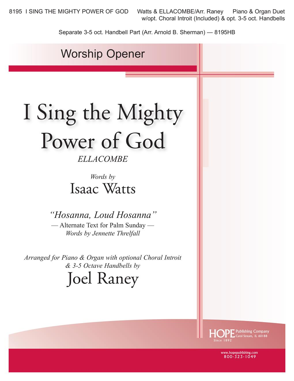 I Sing the Mighty Power of God - Organ-Piano Duet Cover Image