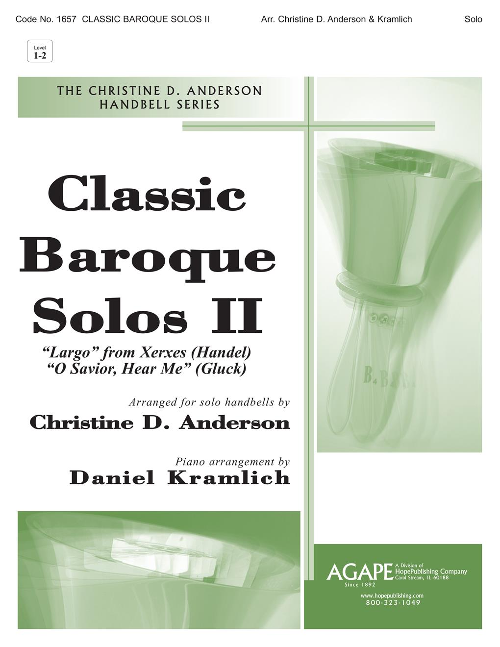 Classic Baroque Solos II Cover Image