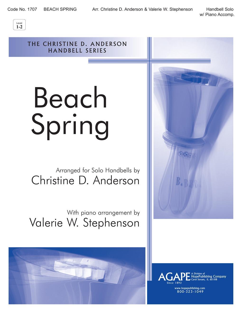 Beach Spring - Solo Handbell Cover Image