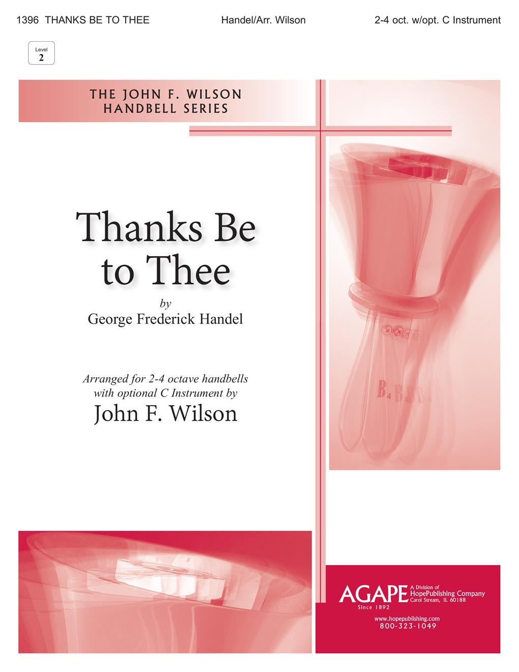 Thanks Be to Thee - 2-4 Oct. Cover Image