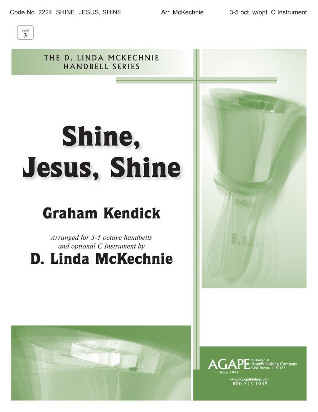 Shine Jesus Shine - 3-5 Octave Cover Image