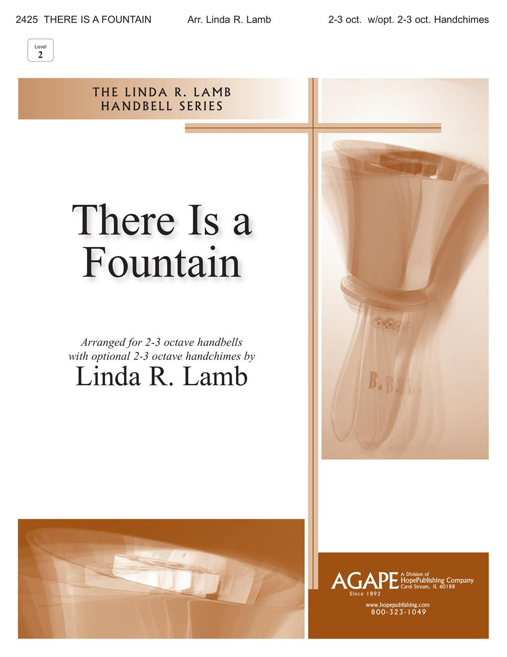 There Is a Fountain - 2-3 Oct. Handbell Cover Image