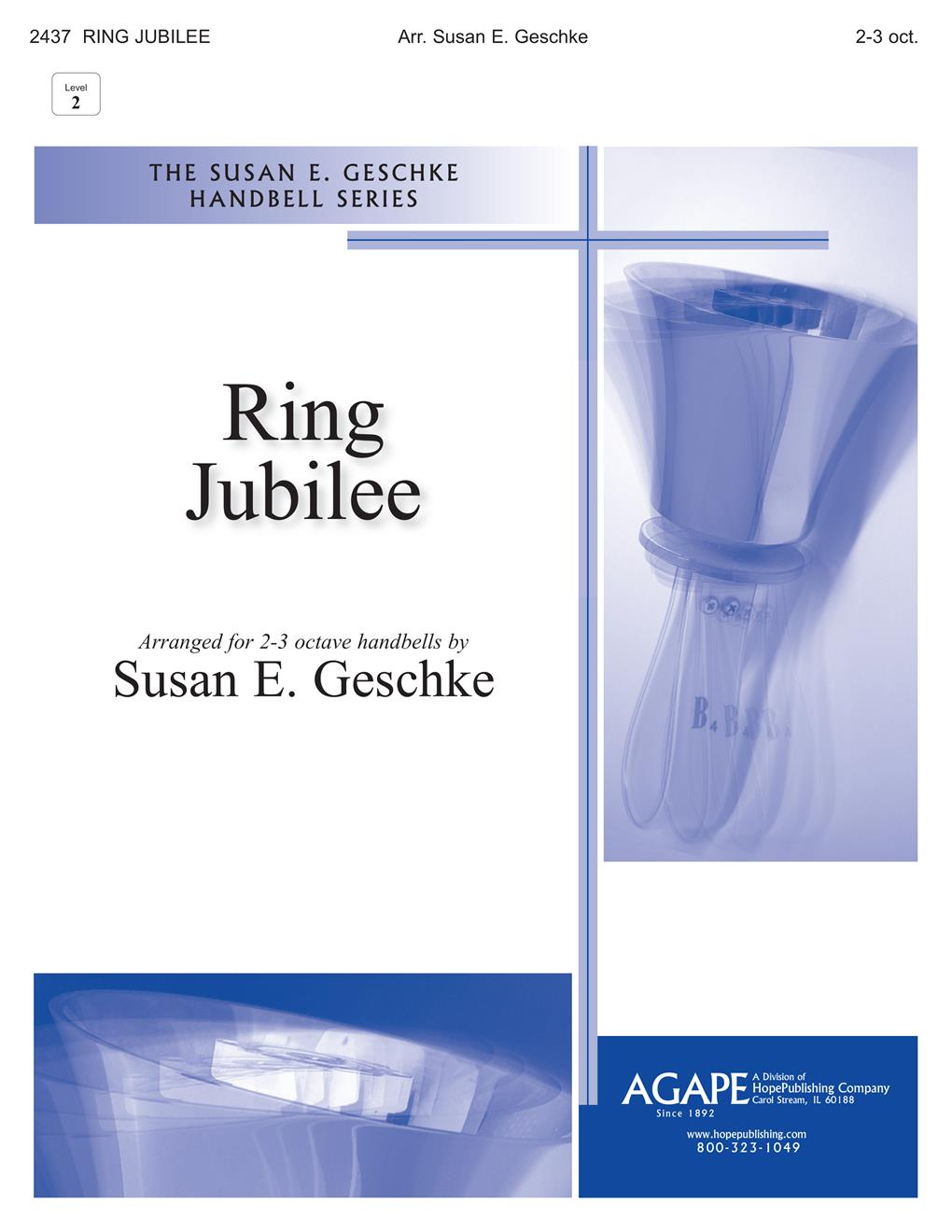 Ring Jubilee - 2 or 3 Oct. Handbell Cover Image