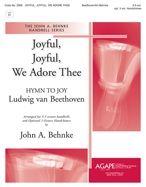 Joyful Joyful We Adore Thee - 3-5 Oct. Cover Image