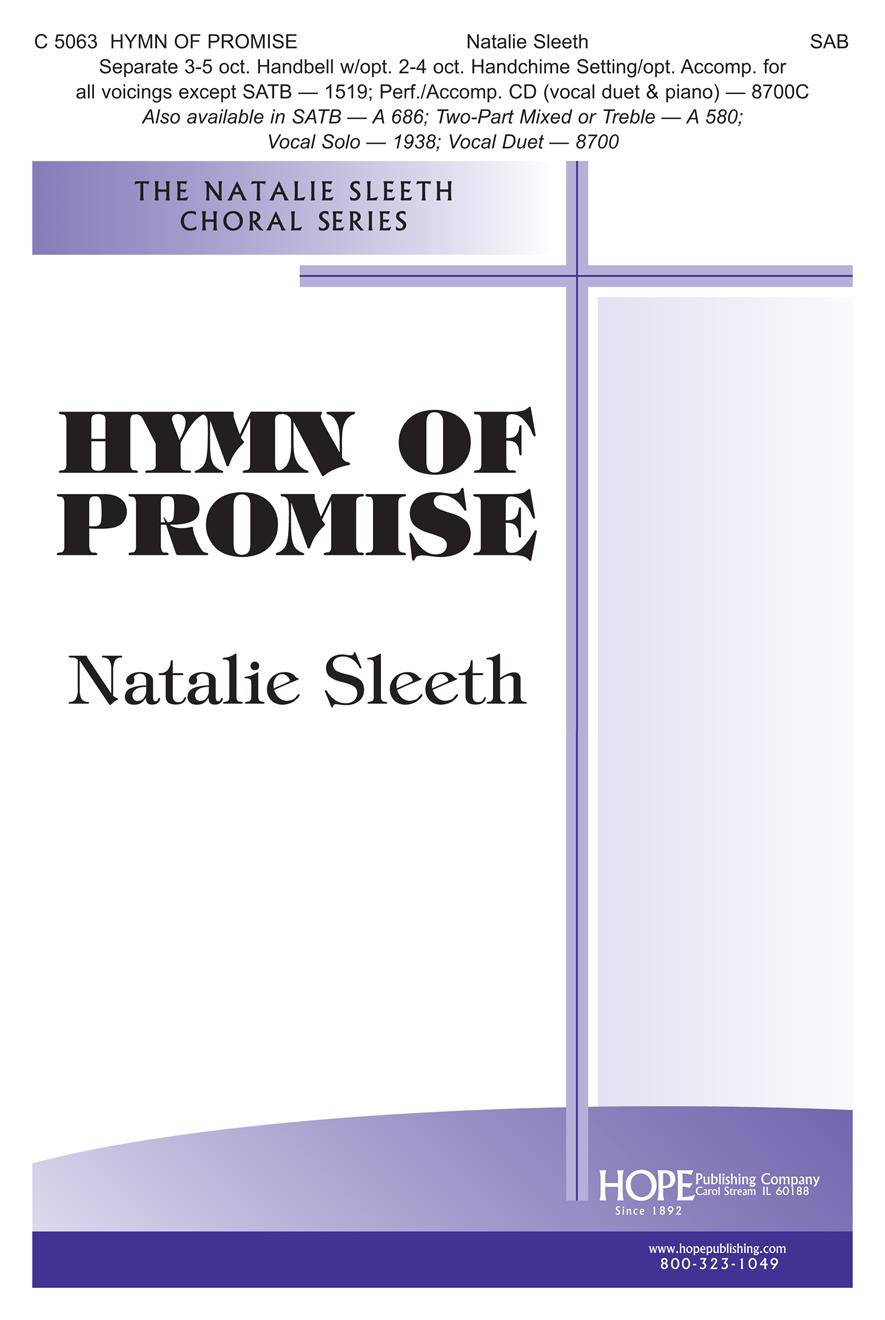 Hymn of Promise - SAB Cover Image