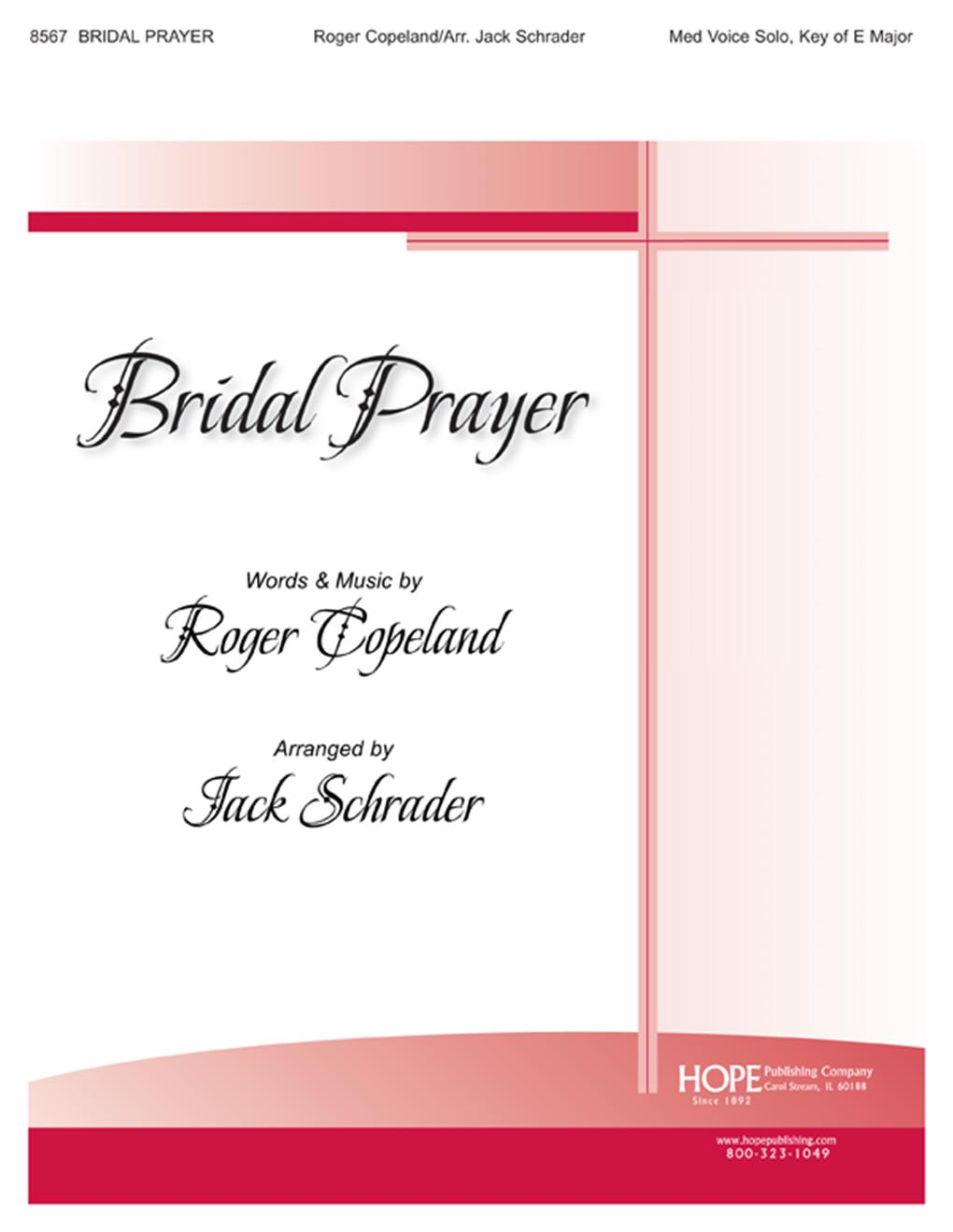 Bridal Prayer - Med. Voice Solo Cover Image