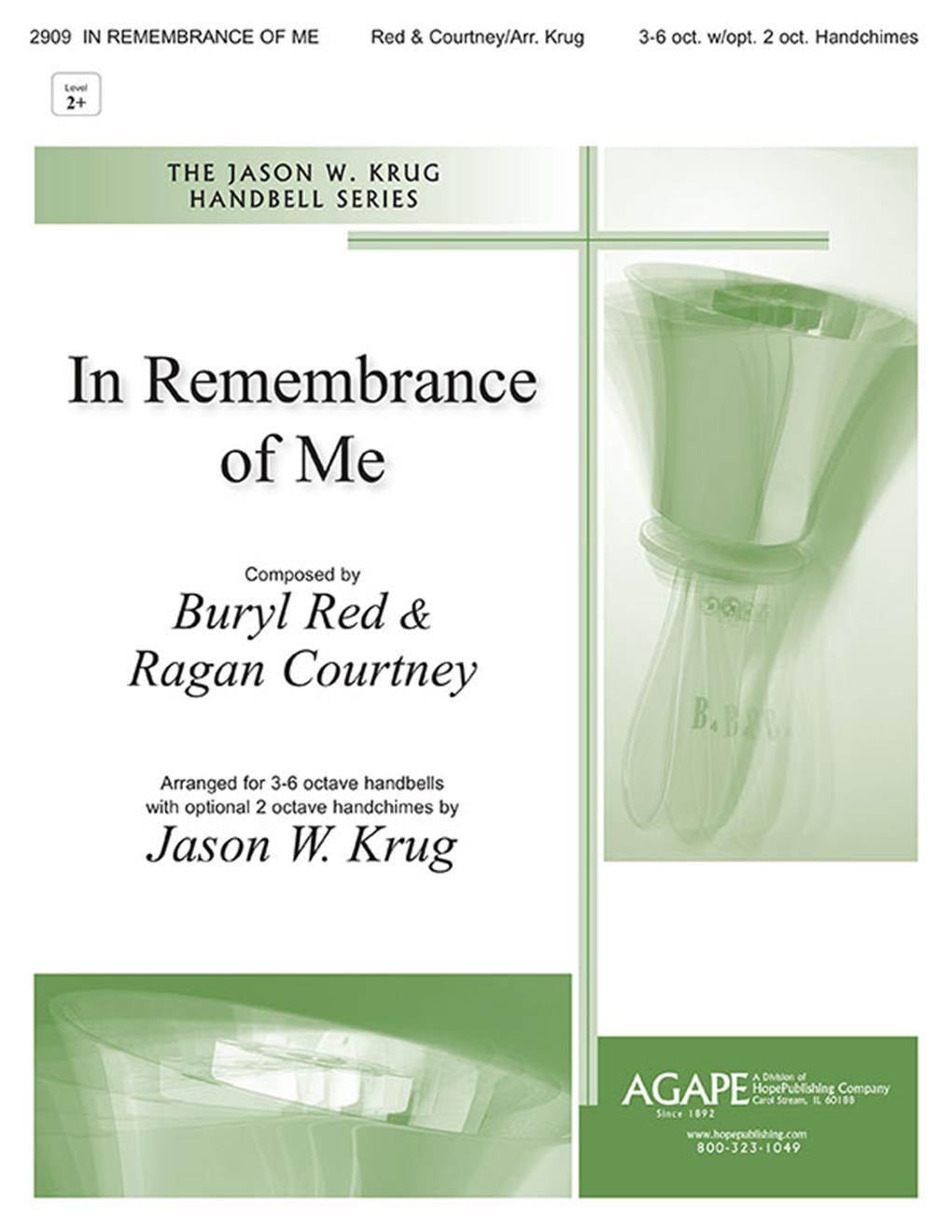 In Remembrance of Me - 3-6 Oct. Cover Image