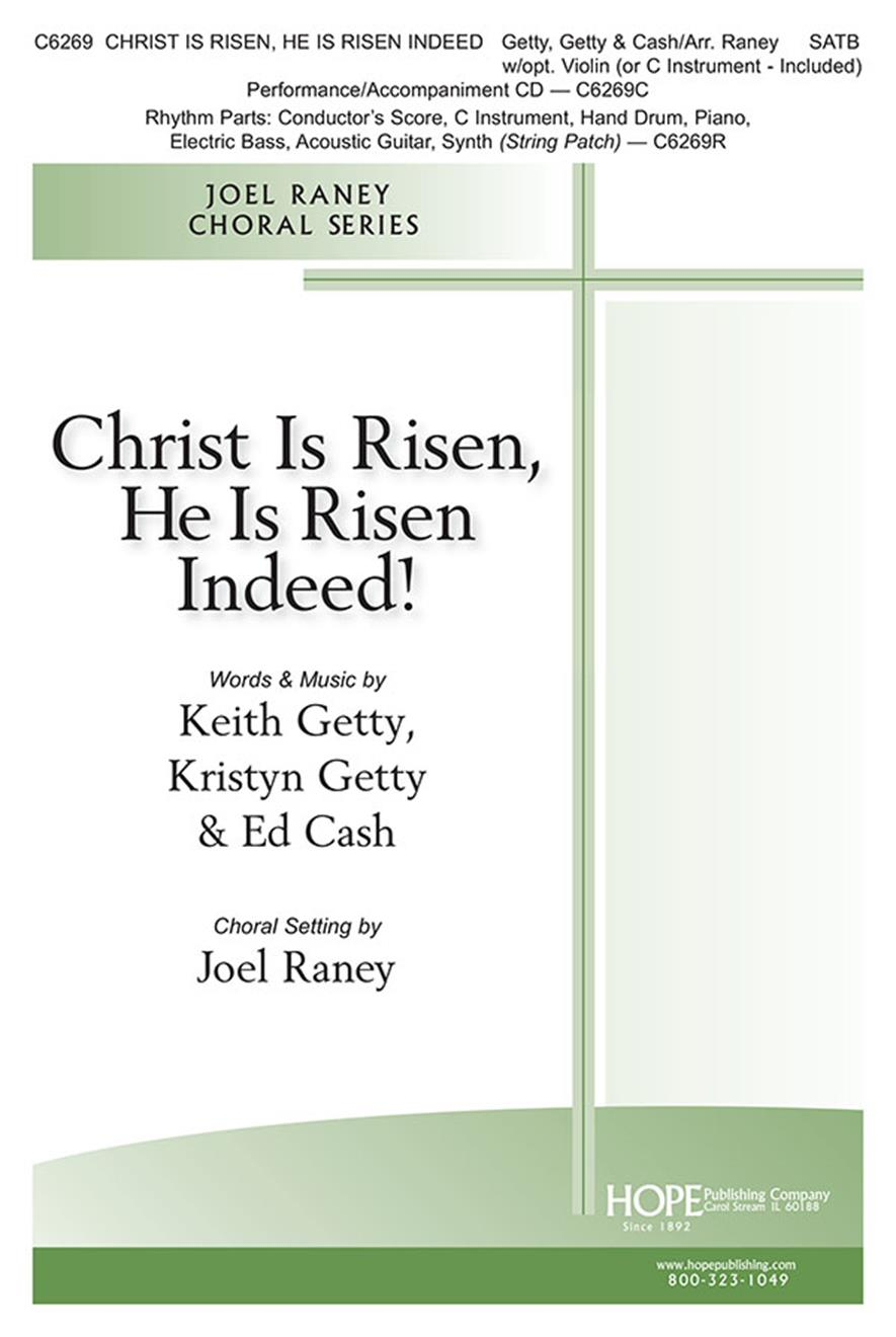 Christ Is Risen He Is Risen Indeed - SATB Cover Image