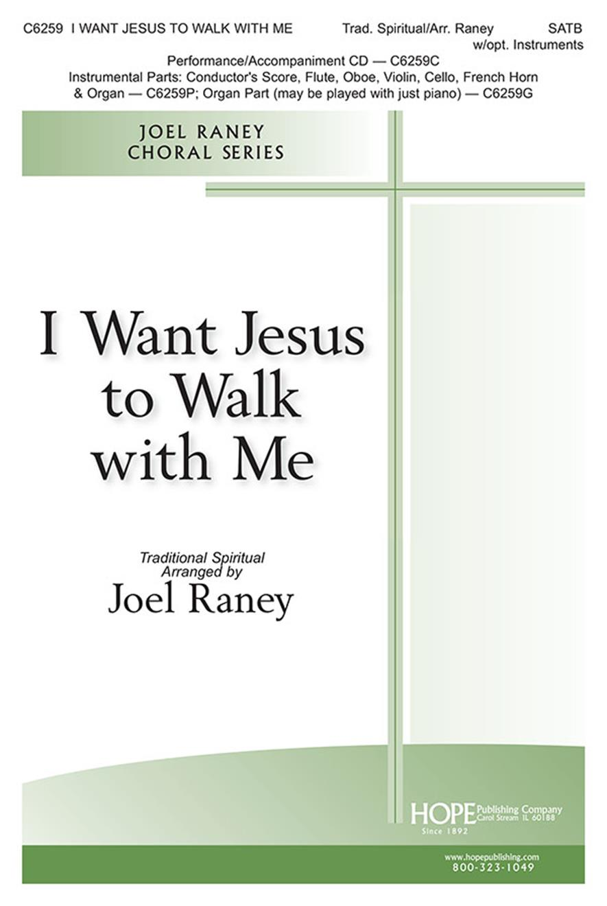 I Want Jesus to Walk with Me - SATB Cover Image