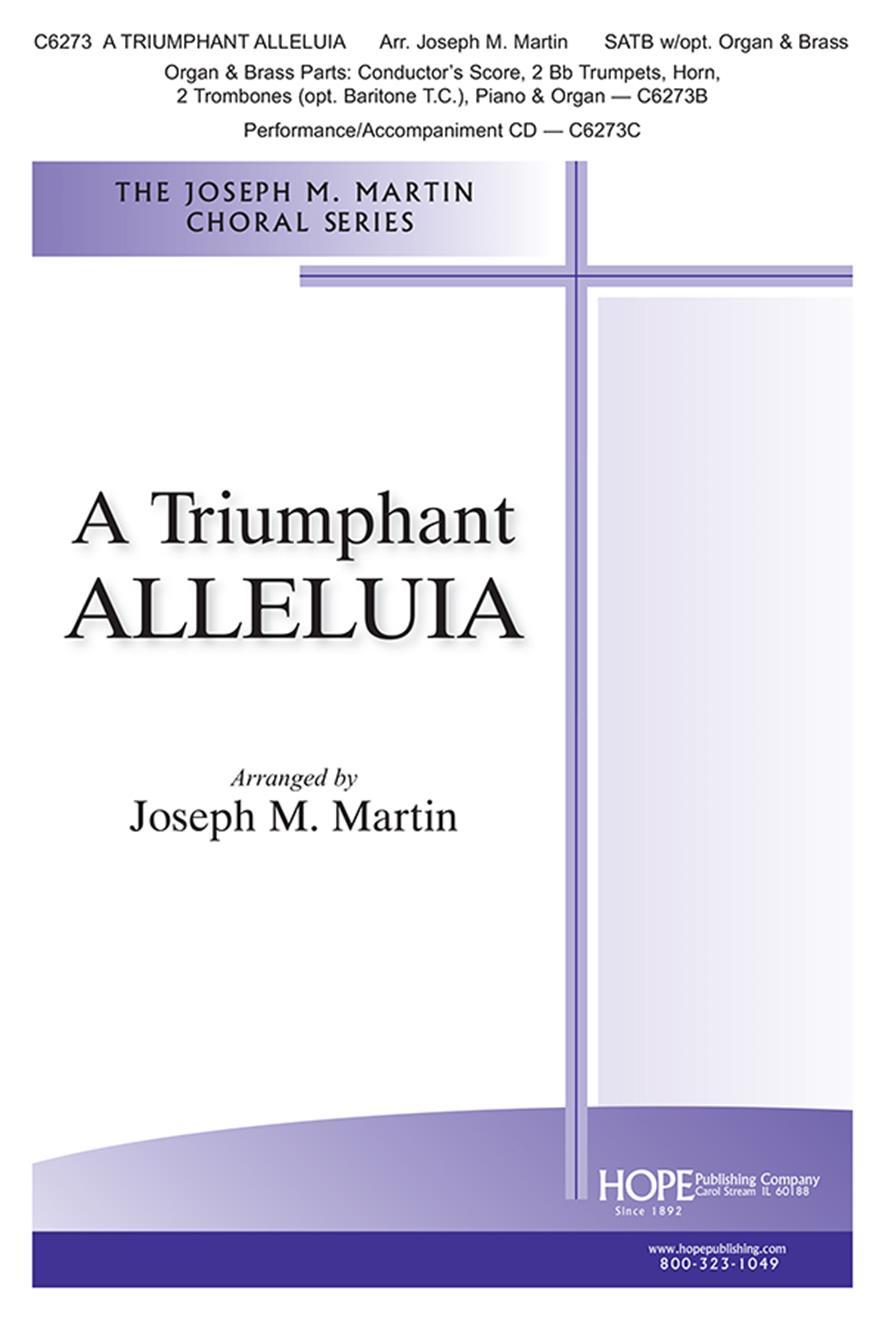 Triumphant Alleluia A - SATB Cover Image