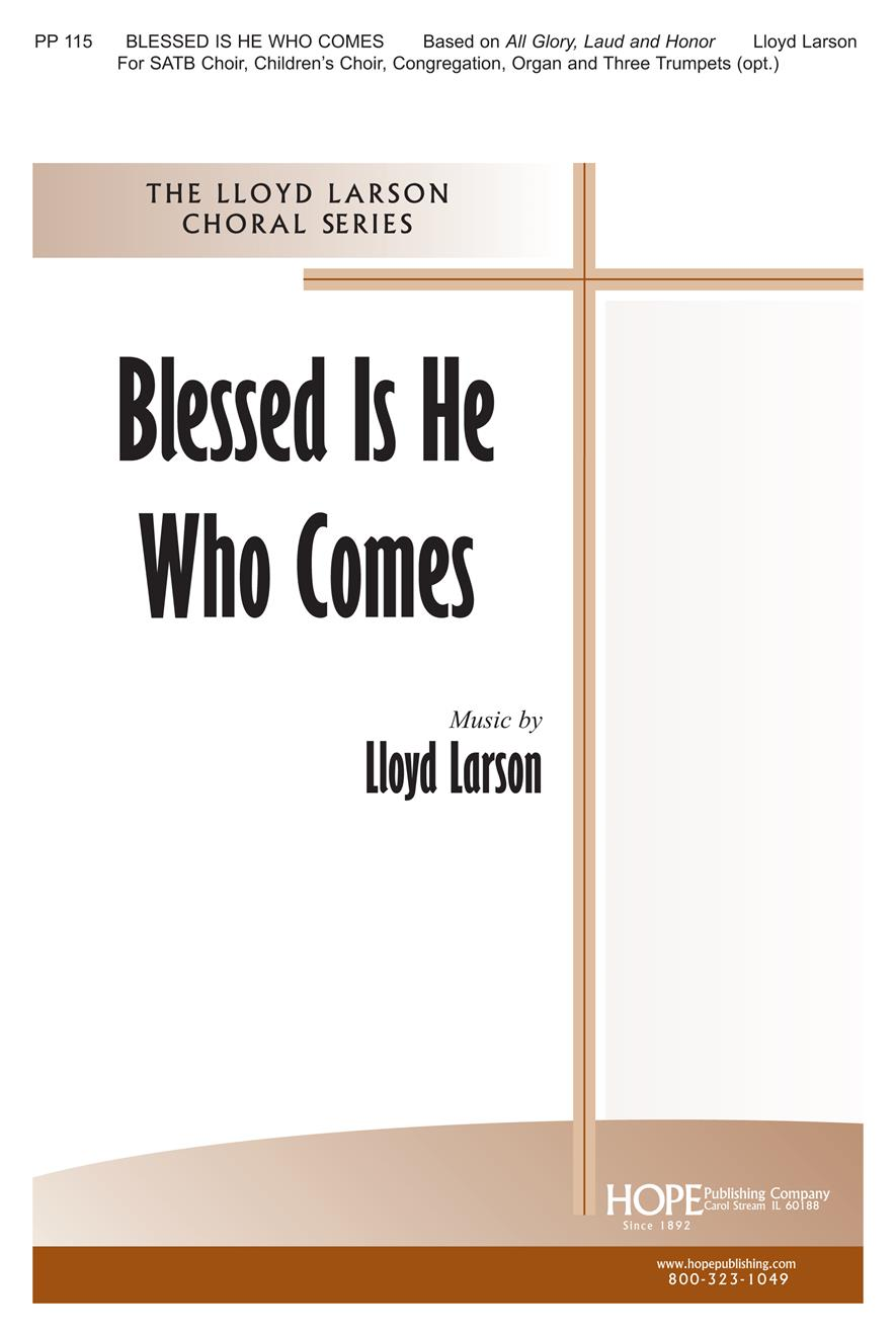 Blessed Is He Who Comes - 2 Choirs Cong. and Brass Cover Image