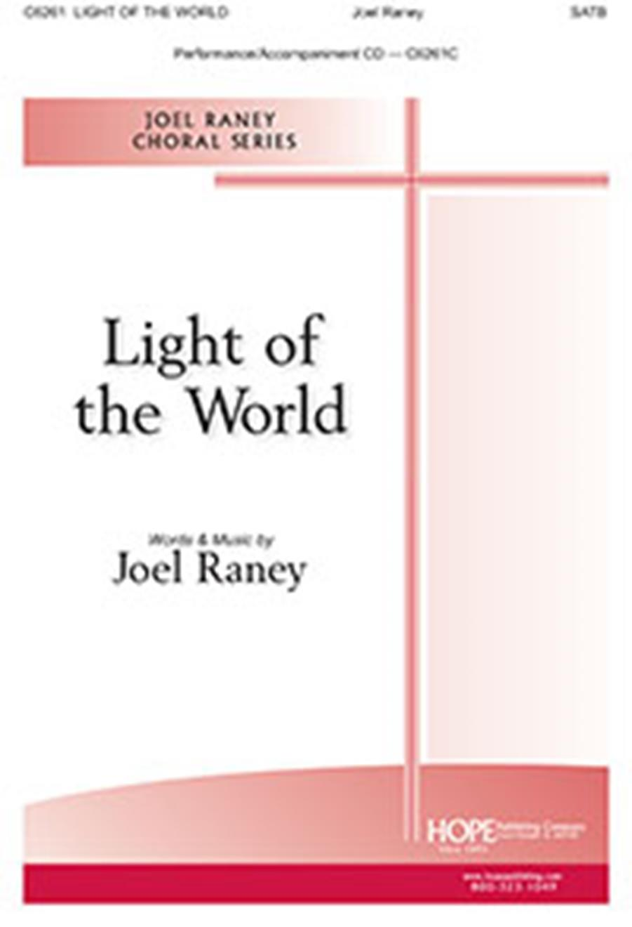 Light of the World - SATB Cover Image