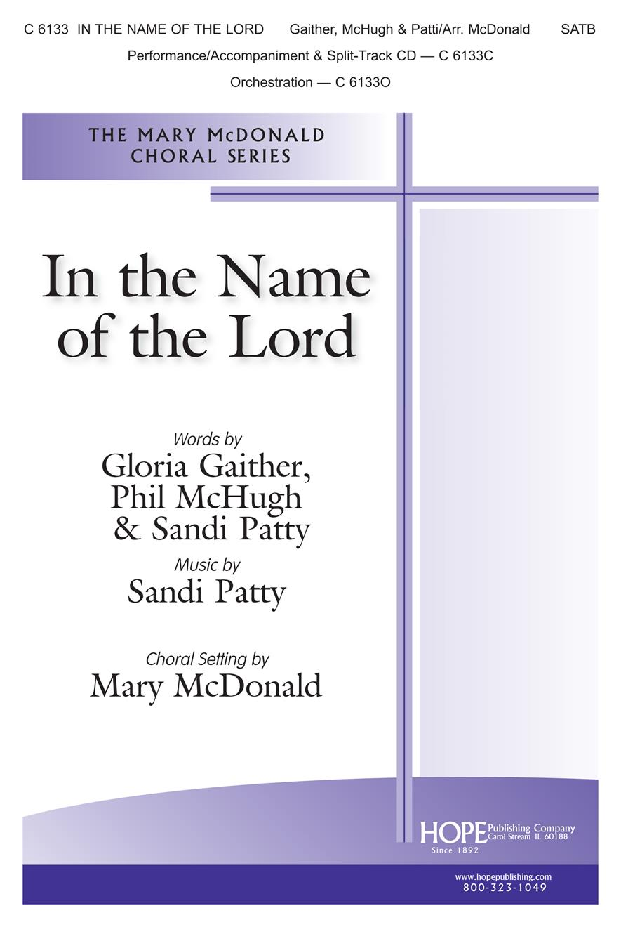 In the Name of the Lord - SATB Cover Image