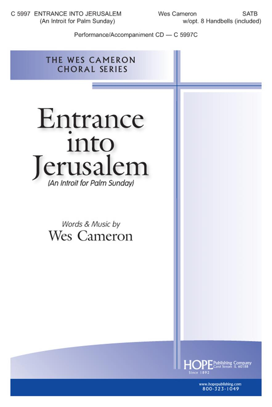 Entrance into Jerusalem - SATB w-opt. 8 Handbells (included) Cover Image