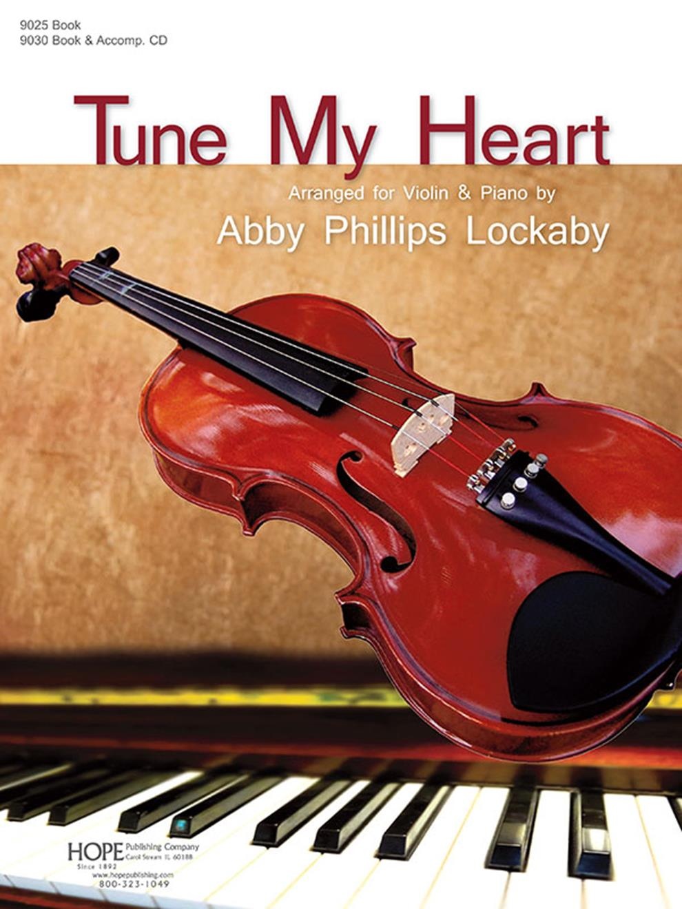 Tune My Heart - violin collection Cover Image