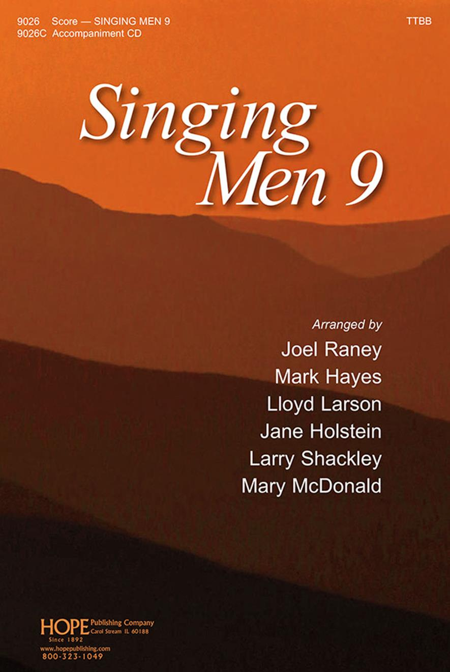 Singing Men 9 - Score Cover Image