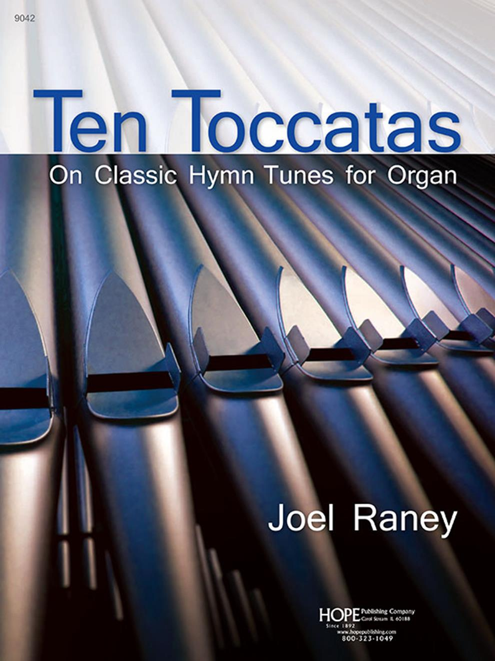 10 Toccatas On Classic Hymn Tunes for Organ - collection Cover Image