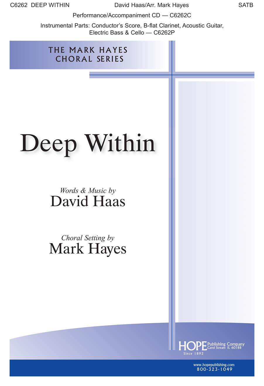 Deep Within - SATB Cover Image