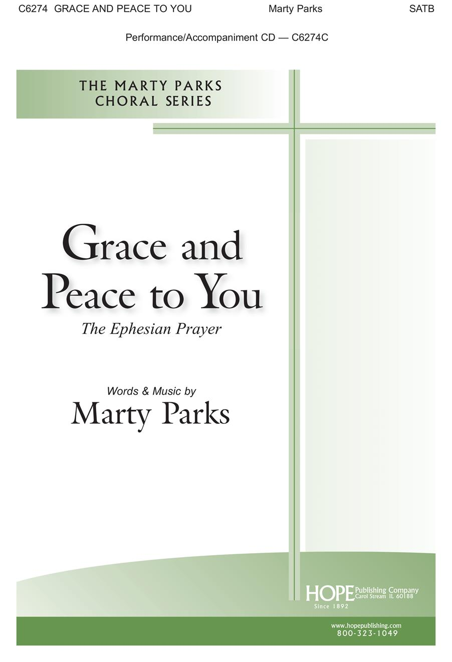 Grace and Peace to You - SATB Cover Image