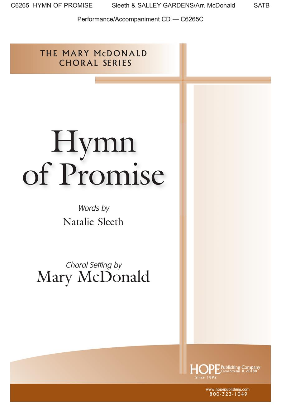Hymn of Promise - SATB Cover Image