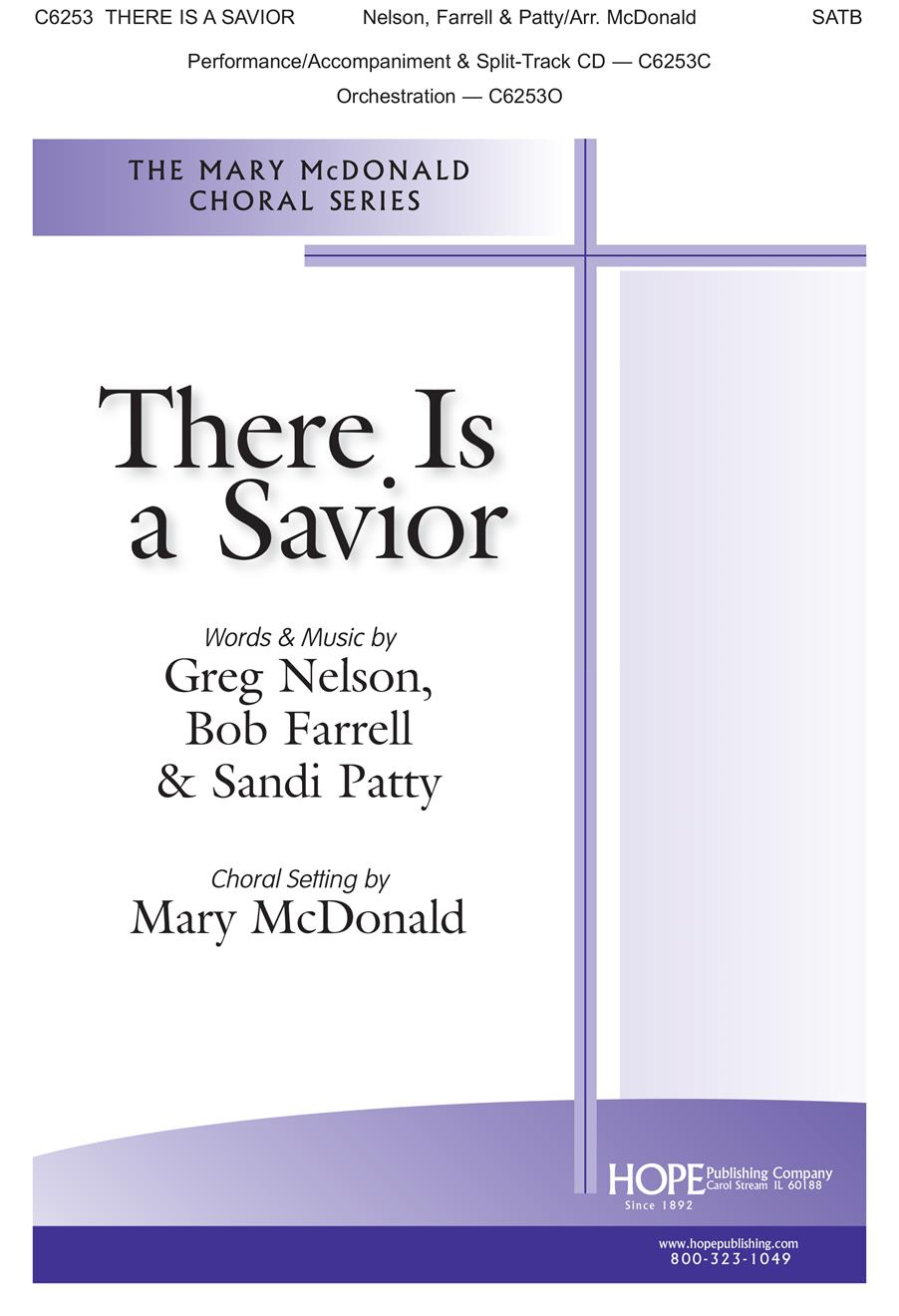 There Is A Savior - SATB Cover Image