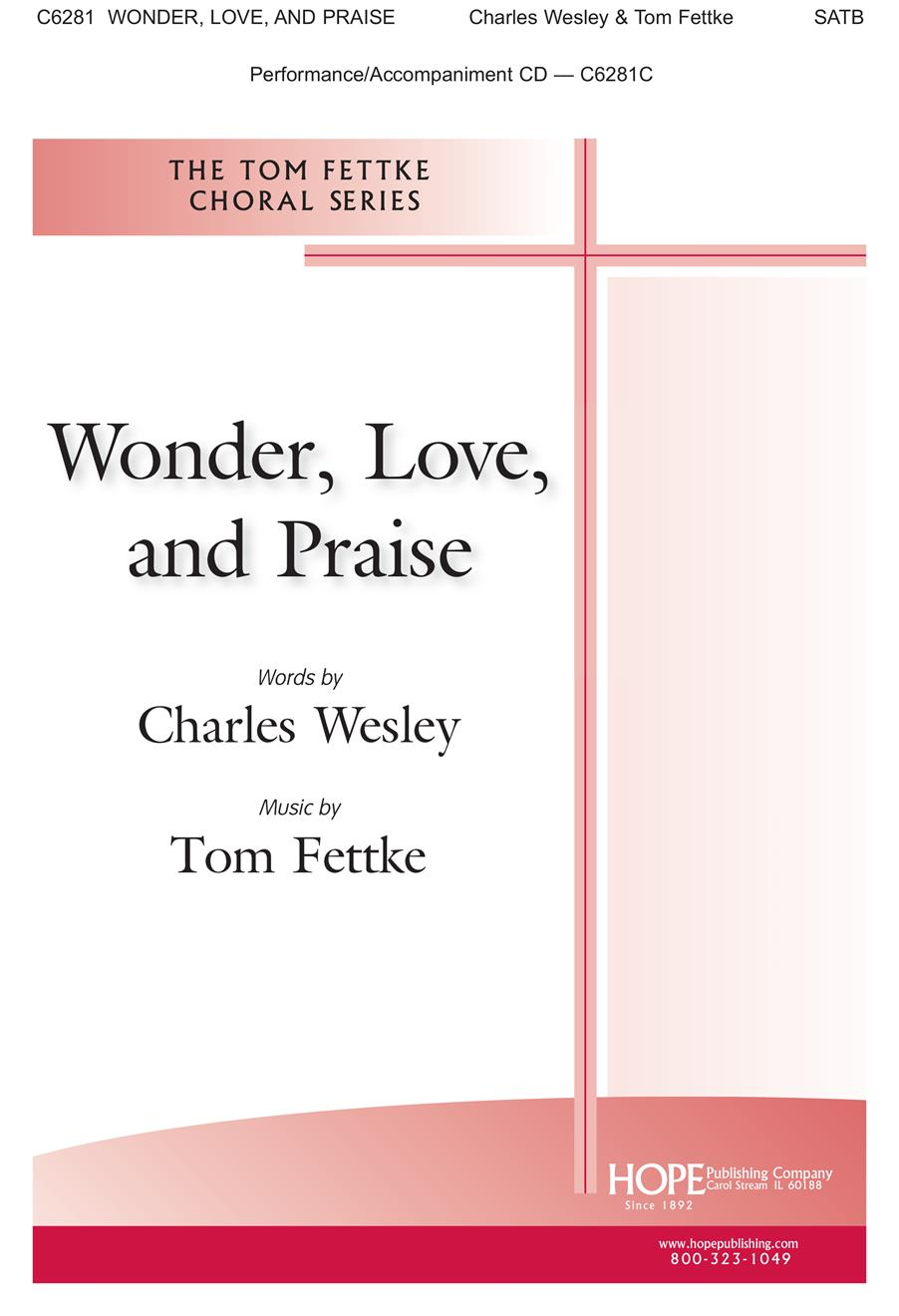Wonder Love and Praise - SATB Cover Image