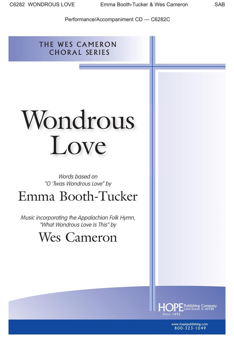 Wondrous Love - SAB Cover Image
