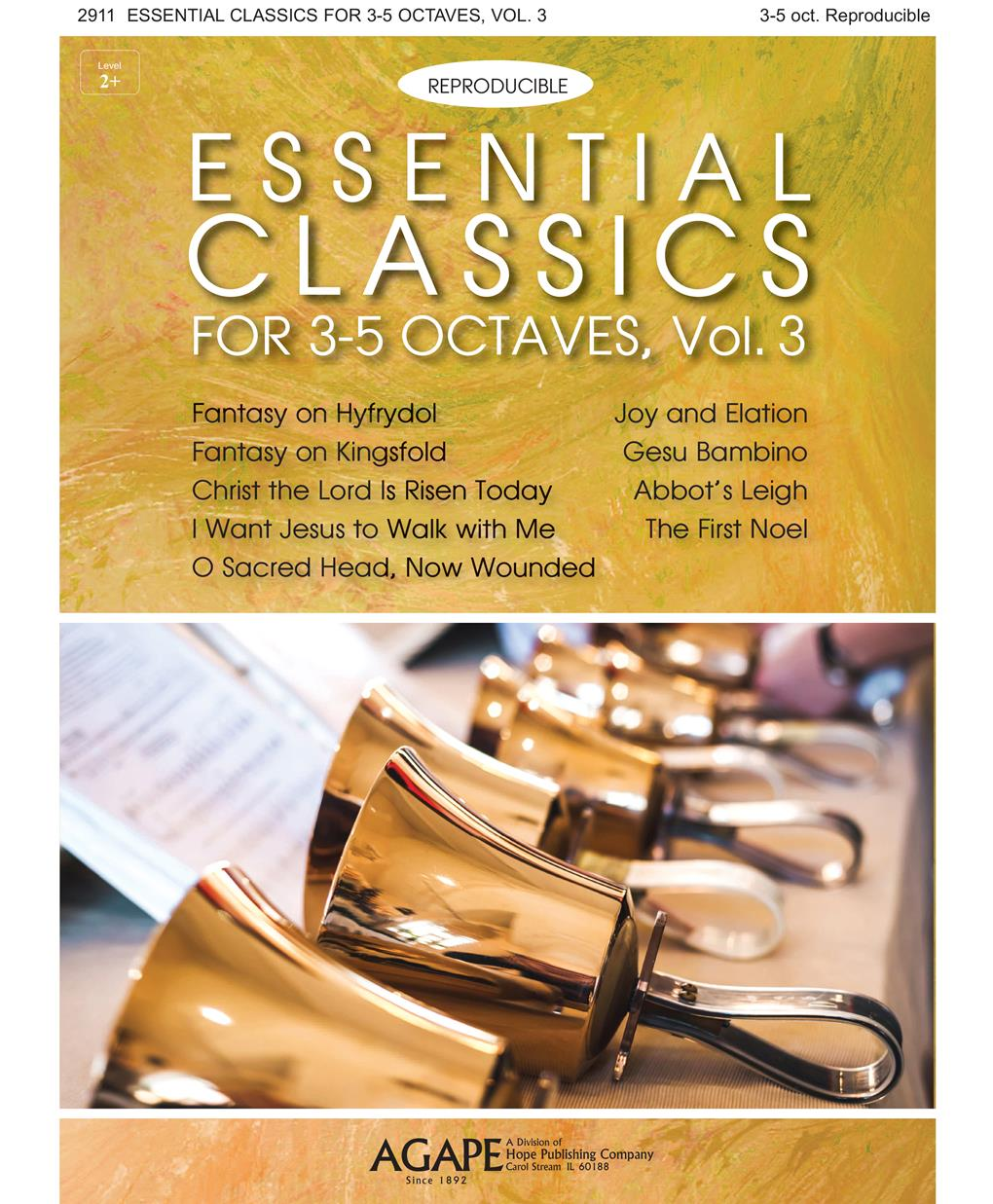Essential Classics for 3-5 Octaves Vol. 3 (Reproducible) Cover Image