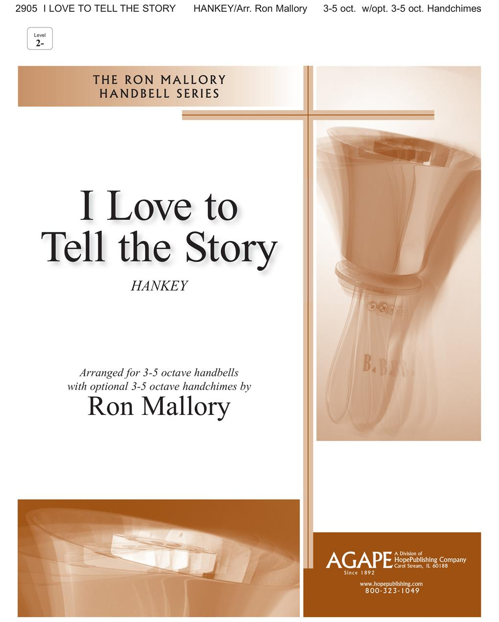 I Love To Tell the Story - 3-5 Oct. Cover Image