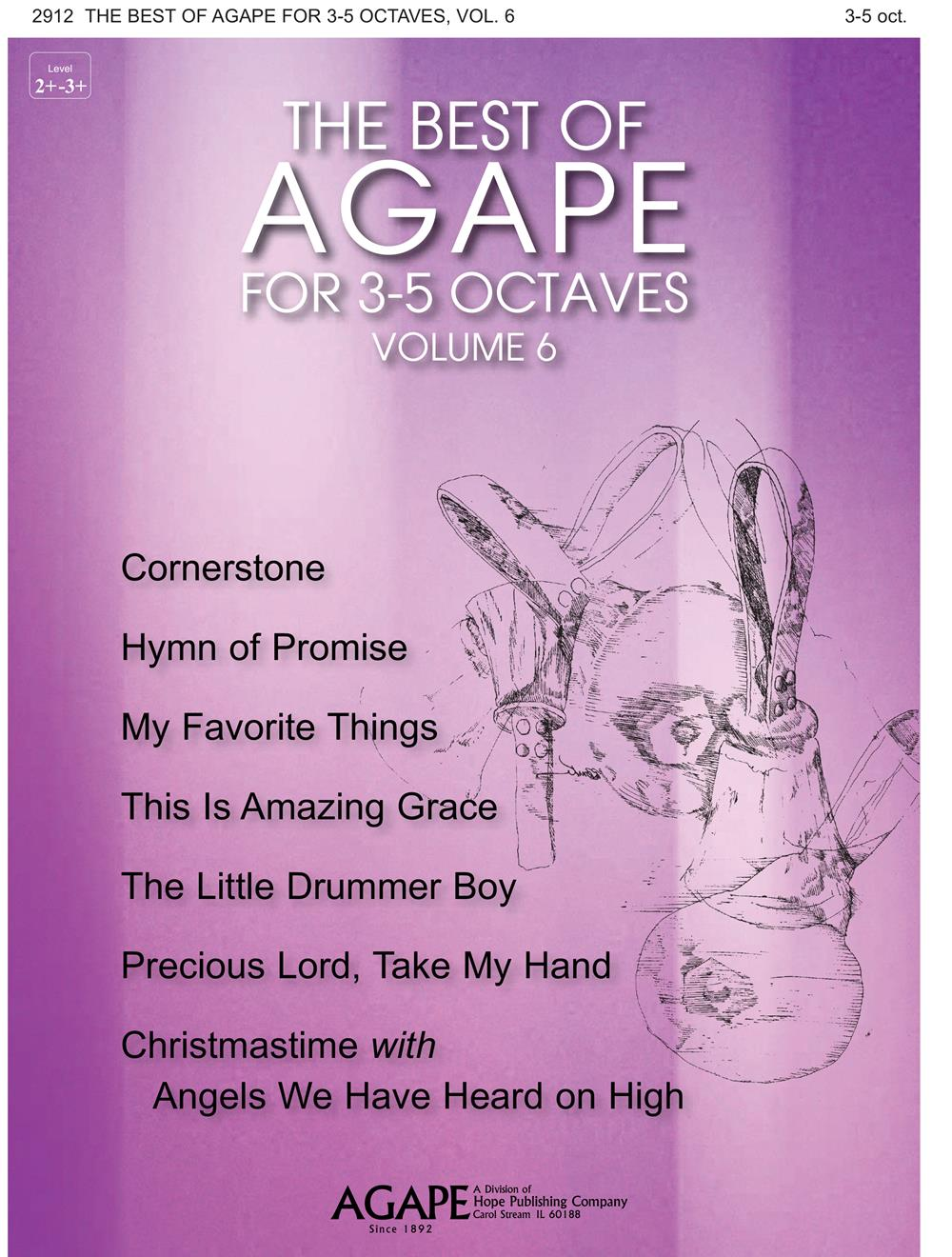 The Best of Agape for 3-5 Octaves Vol. 6 Cover Image
