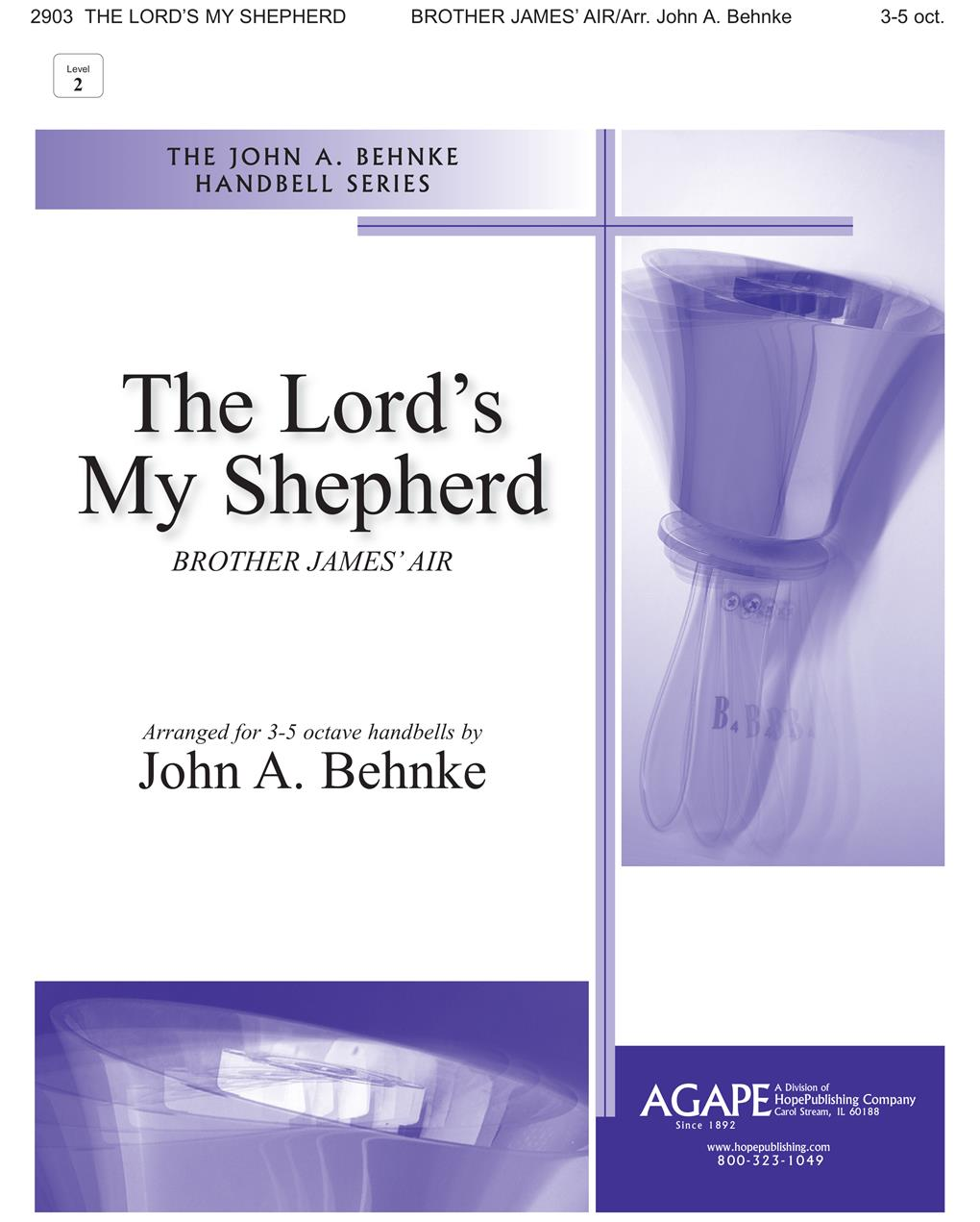 The Lord's My Shepherd - 3-5 Oct. Cover Image