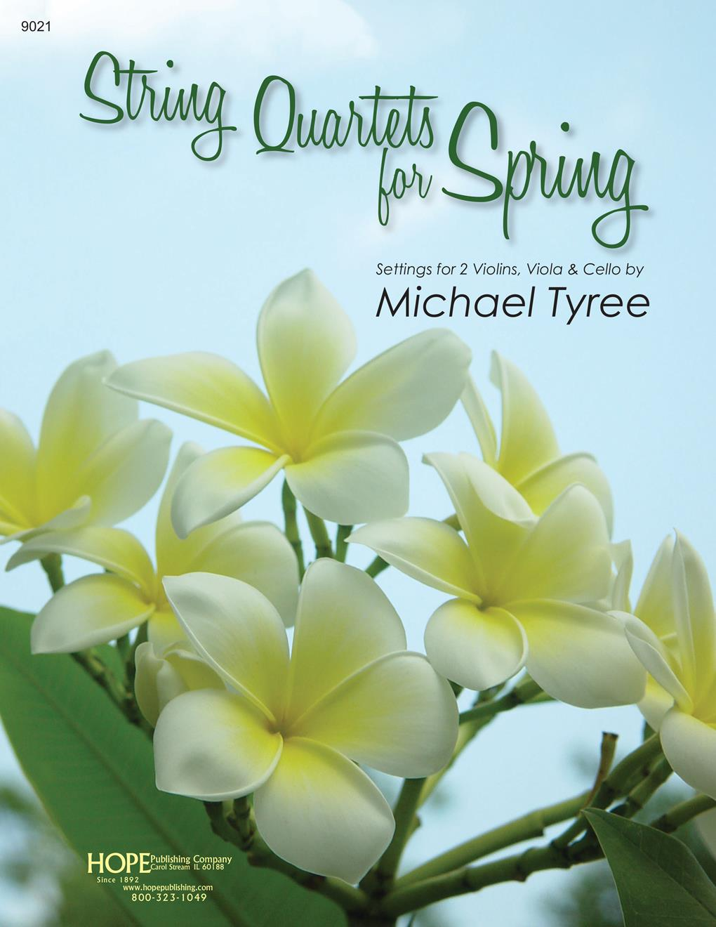 String Quartets for Spring - Book and CD-ROM w- parts Cover Image