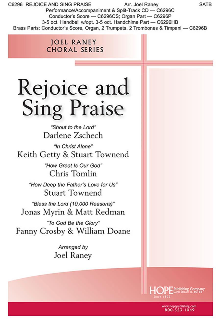 Rejoice and Sing Praise - SATB Cover Image