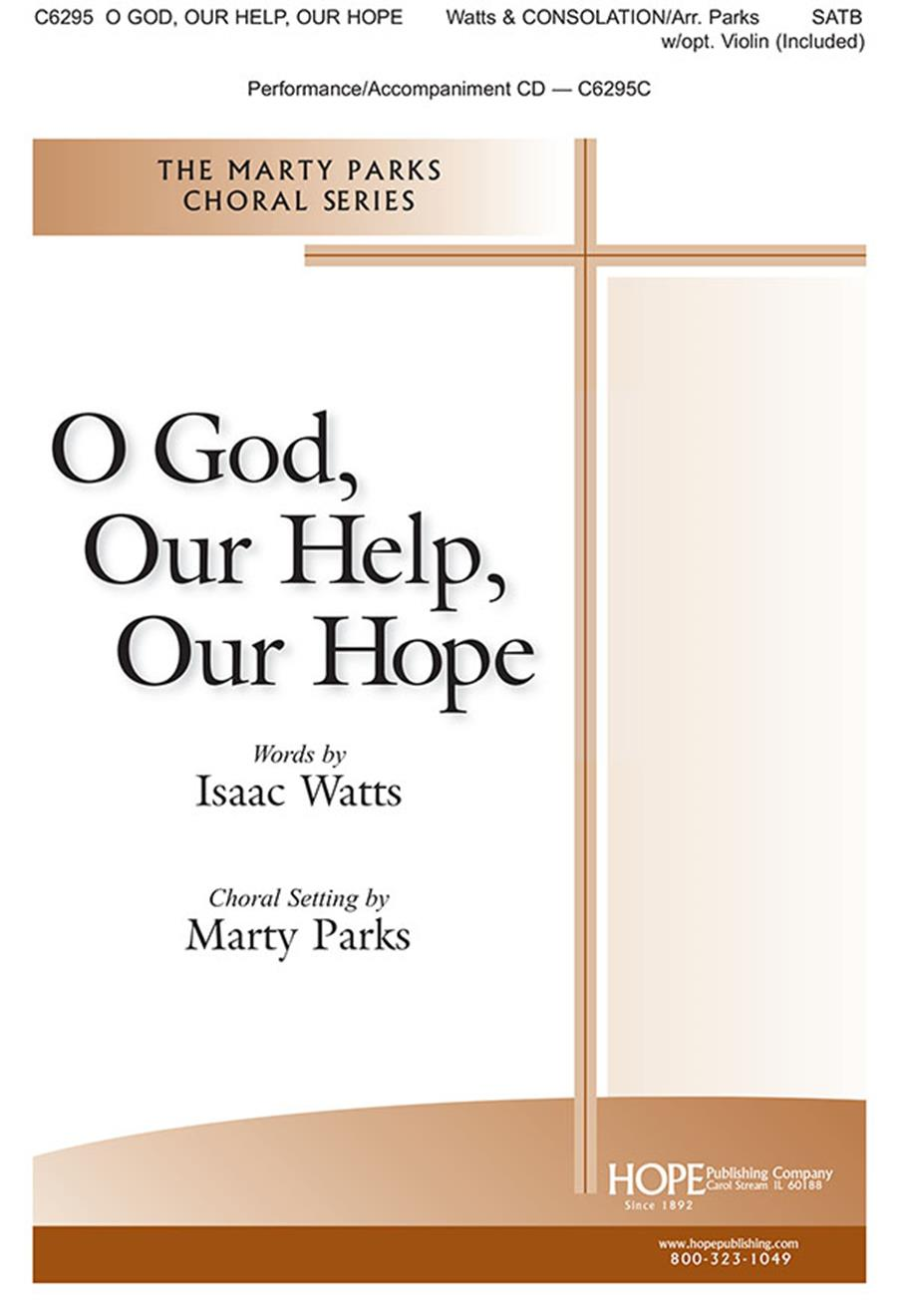 O God Our Help Our Hope - SATB Cover Image