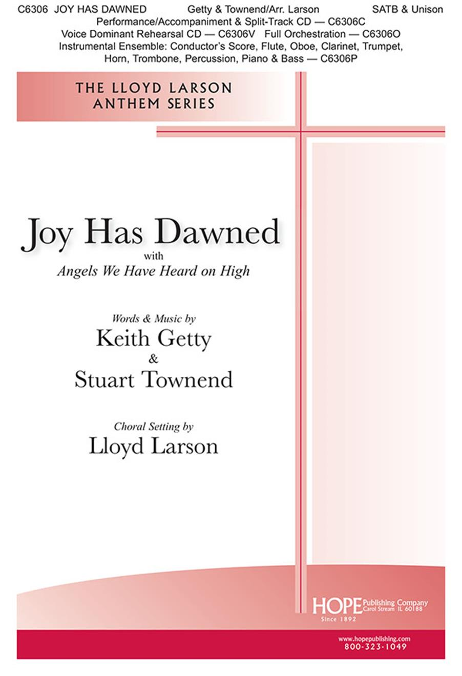 Joy Has Dawned-Angels We Have Heard -SATB Cover Image